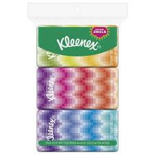 Kleenex Tissues w/ Lotion 3 Pocket Packs-90 ct