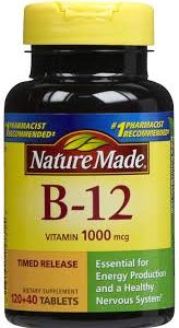 Nature Made B-12 Tablets