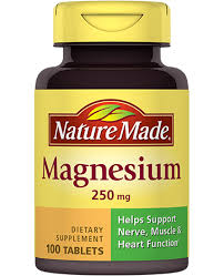 Nature Made Magnesium 250mg Tablets