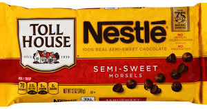Nestle Toll House Milk Chocolate Morsels